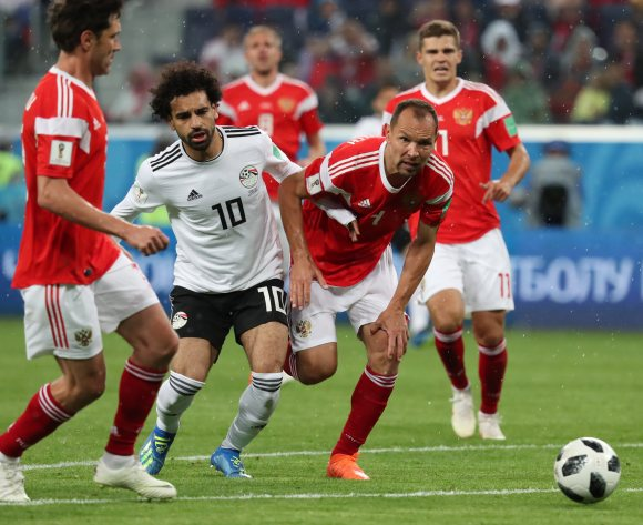 Egypt lose to Russia, suffer elimination from World Cup