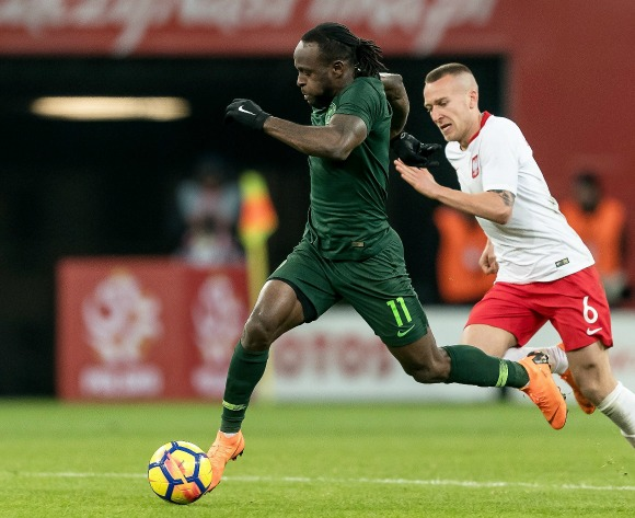 Nigeria talisman Moses reveals best game during World Cup qualifying