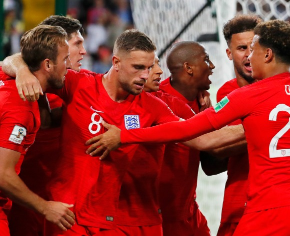 Colombia crash out of World Cup after surprising shootout win for England