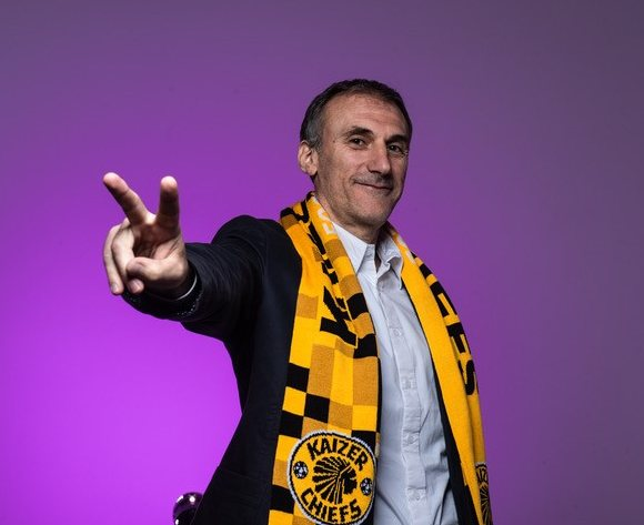 Solinas is the new Kaizer Chiefs coach