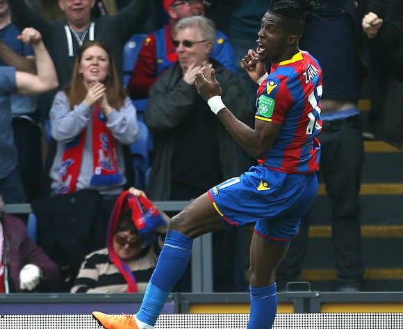Borussia Dortmund join the race for Wilfried Zaha