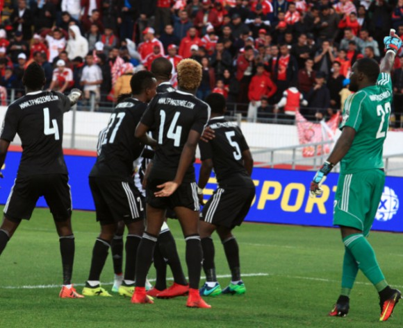 Mazembe remain atop after Alger win