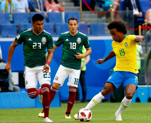Mexico exit World Cup as Brazilians shine