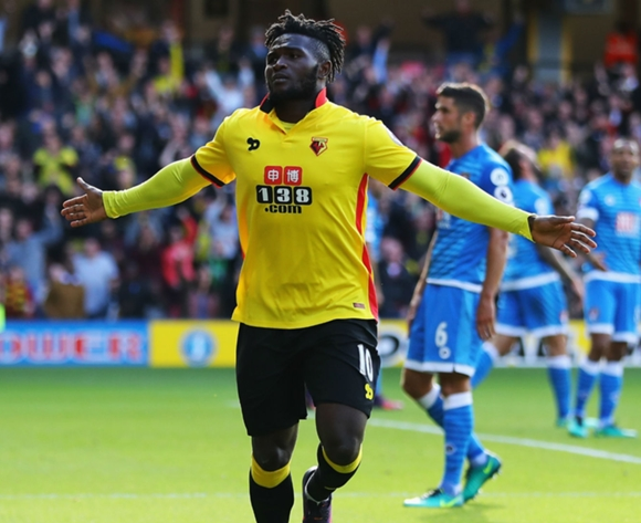 Nigeria's Isaac Success set for Aston Villa loan