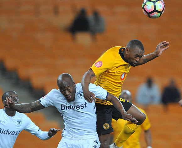 Sifiso Hlanti of Bidvest Wits challenges Bernard Parker of Kaizer Chiefs during the Absa Premiership match between Kaizer Chiefs and Bidvest Wits on the 07 August 2018 at FNB Stadium Pic Sydney Mahlangu/BackpagePix