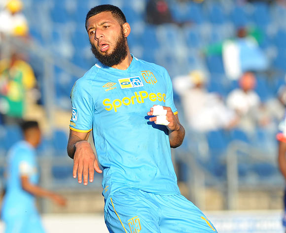 Riyaad Norodien of Cape Town City during the MTN 8 Quarter final match between Maritzburg United and Cape Town City on the 12 August 2018 at Harry Gwala Stadium Pic Sydney Mahlangu/BackpagePix