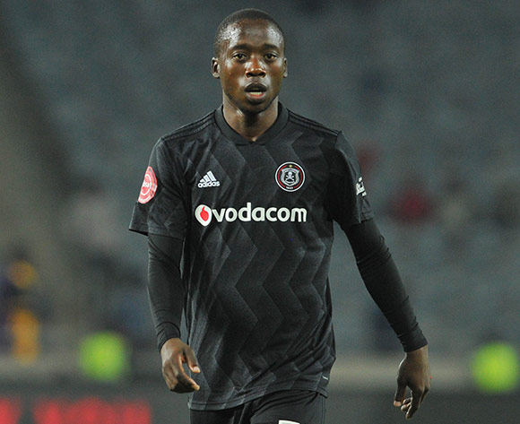 Ben Motshwari of Orlando Pirates during the Absa Premiership match between Orlando Pirates and Bidvest Wits on the 15 August 2018 at Orlando Stadium Pic Sydney Mahlangu/BackpagePix