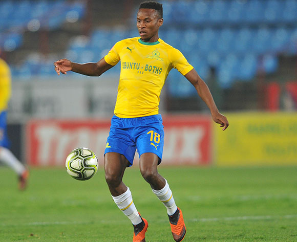 Themba Zwane of Mamelodi Sundowns during the Absa Premiership match between Mamelodi Sundowns and Highlands Park on the 22 August 2018 at Loftus Versfeld Stadium / Pic Sydney Mahlangu/BackpagePix