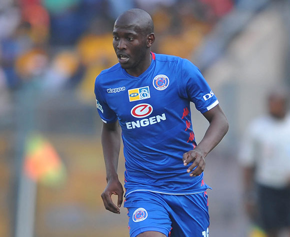 Aubrey Modiba of Supersport United during the MTN8 Semi Final first Leg match between Supersport United and Kaizer Chiefs on the 26 August 2018 at Lucas Moripe Stadium/ Pic Sydney Mahlangu/BackpagePix