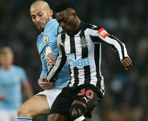 Christian Atsu not worried about lack of playing time