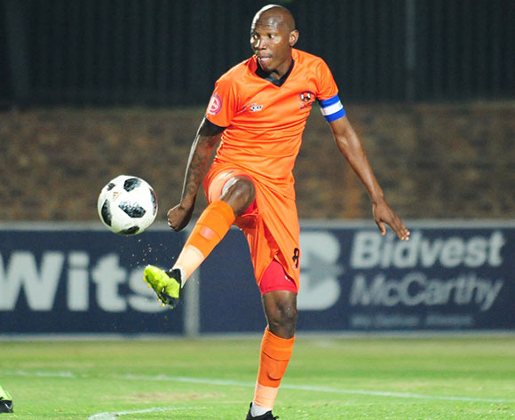Jabu Maluleke of Polokwane City during 2018 Absa Premiership match between Bidvest Wits and Polokwane City at Bidvest Wits Stadium in Johannesburg ,South Africa on 21 September 2018 ©Aubrey Kgakatsi/BackpagePix