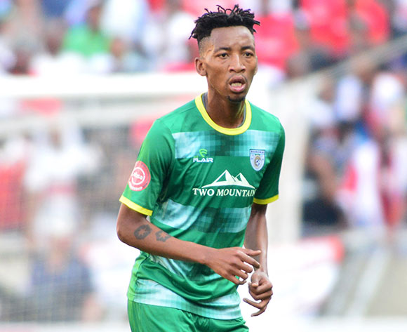 Matome Mabeba of Baroka FC during the Absa Premiership 2018/19 game between Baroka FC and Orlando Pirates at Peter Mokaba Stadium in Polokwane the on 22 September 2018 © Kabelo Leputu/BackpagePix