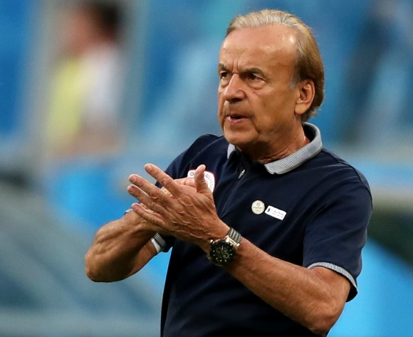 Nigeria gaffer Gernot Rohr satisfied after win over Seychelles