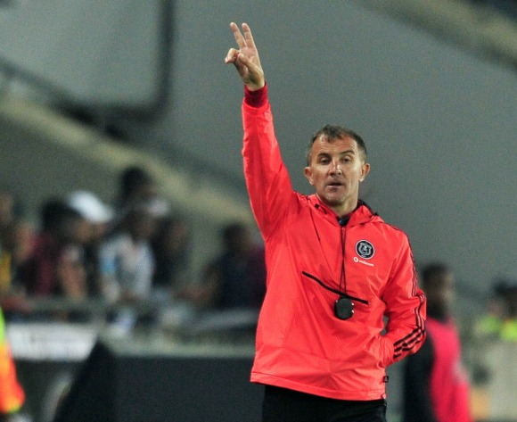 Orlando Pirates coach disappointed to throw away two-goal lead