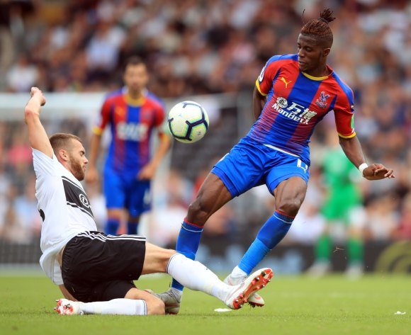 Zaha to make Eagles return away to Huddersfield