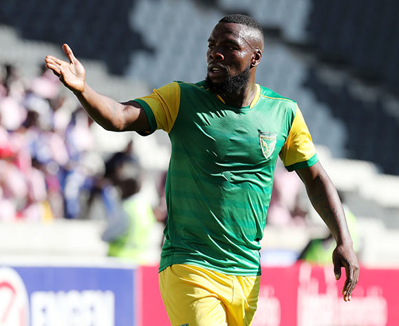 Siyanda Zwane of Golden Arrows during the Absa Premiership 2018/19 match between Supersport United and Golden Arrows at the Mbombela Stadium, Nelspruita on 28 October 2018 ©Muzi Ntombela/BackpagePix