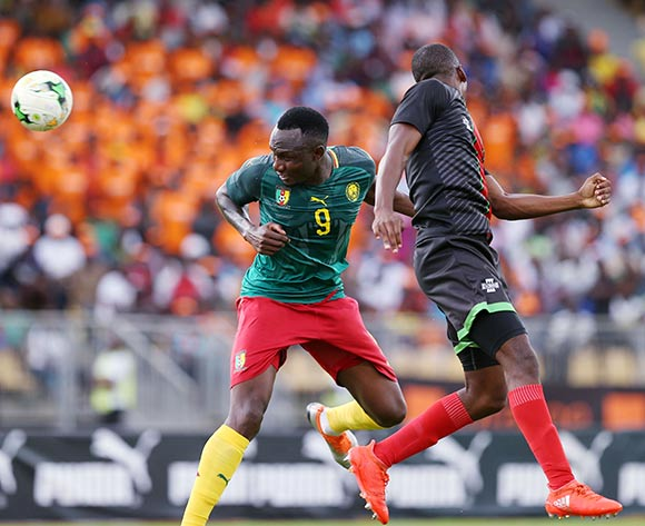 Jacques Zoua of Cameroon during the 2019 Afcon qualifying football match between Cameroon and Malawi at the Hamadou Ahidjo Stadium in Yaounde, Cameroon on 12 October 2018 ©Alain Suffo/BackpagePix