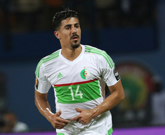 Algeria ease past Benin to move clear in Group D