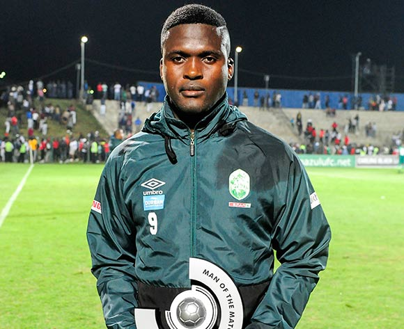 Man of the Match Jabulani Ncobeni of AmaZulu FC during the Absa Premiership 2018/19 game between AmaZulu and Orlando Pirates at King Zwelithini Stadium, Durban on 6 October 2018 © Gerhard Duraan/BackpagePix