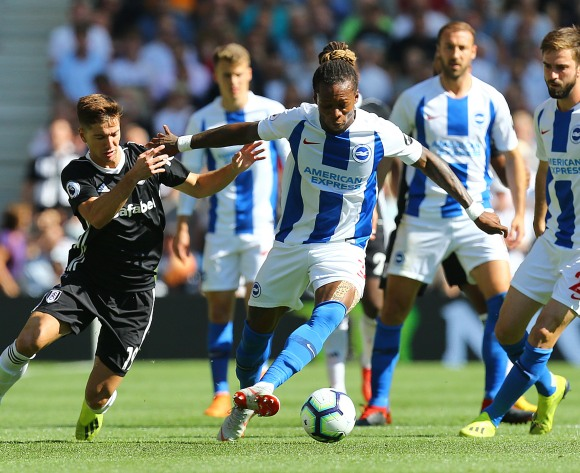 WATCH: Cameroonian Gaetan Bong's Brighton move away from relegation zone