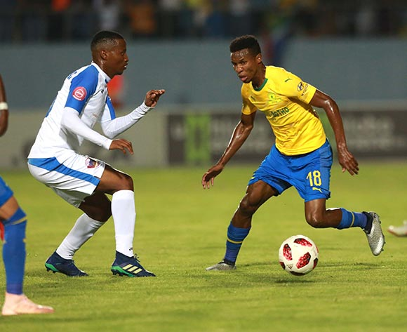 Themba Zwane of Mamelodi Sundown during the Absa Premiership 2018/19 match between Chippa United and Mamelodi Sundowns at Sisa Dukashe Stadium,Mdantsane,East London on 27 October 2018 ©/BackpagePix