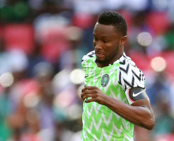 John Obi Mikel left out so he can recover from injury