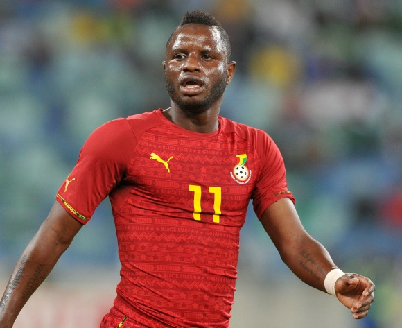 Wakaso reports for national duty following car accident