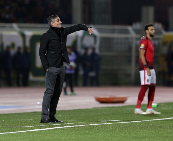 Patrice Carteron demands more from his Al Ahly players