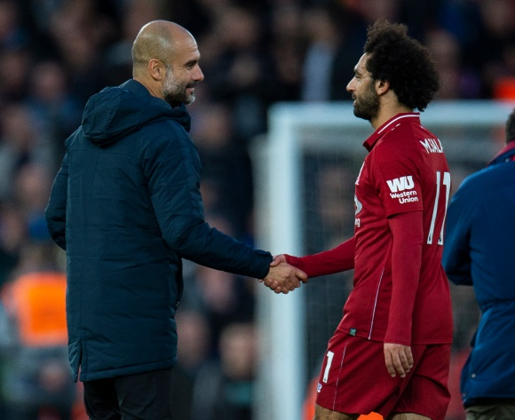 Salah not on Aguero's level yet