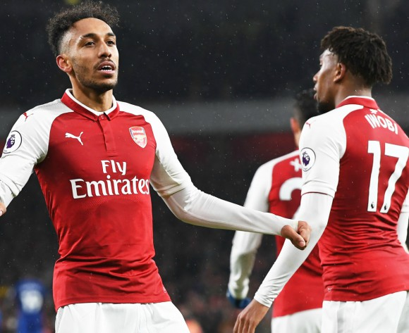 WATCH: Gabon's Pierre-Emerick Aubameyang shines bright for Arsenal