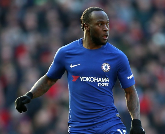 WATCH: Victor Moses cameos for Chelsea in Europa League win