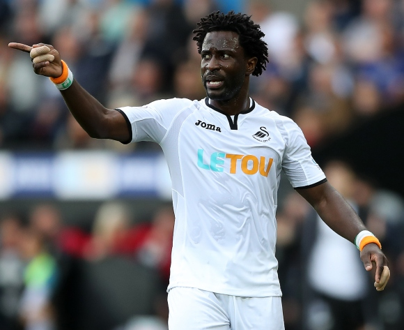 Ivory Coast star Wilfried Bony back in training