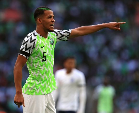 William Troost-Ekong hails Nigeria's team spirit
