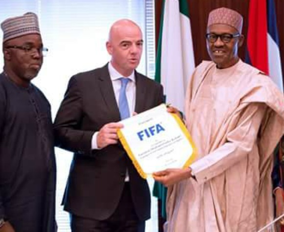 FIFA welcome back Nigeria Football Federation president