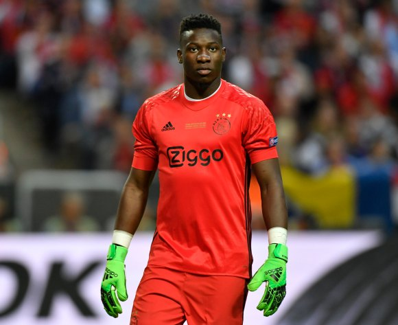 Cameroonian goalkeeper Andre Onana on Tottenham's radar