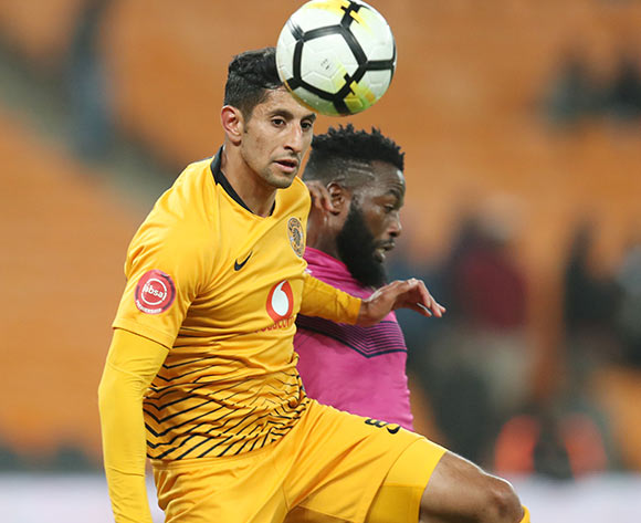 Leonardo Castro of Kaizer Chiefs challenged by Mwape Musonda of Black Leopards during the Absa Premiership 2018/19 match between Kaizer Chiefs and Black Leopards at the FNB Stadium, Johannesburg on 07 November 2018 ©Muzi Ntombela/BackpagePix