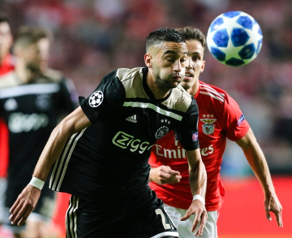 Ajax suffer Ziyech blow