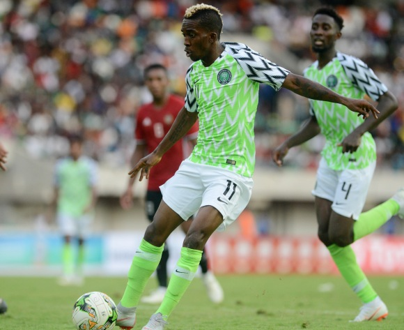 Promotion to full Nigeria squad pleases Henry Onyekuru