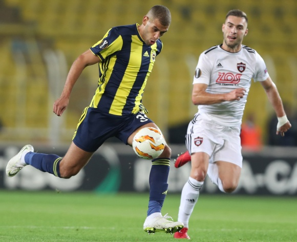 WATCH: Ghanaian Andre Ayew and Algerian Islam Slimani's Fenerbahce down Anderlecht in Europa League