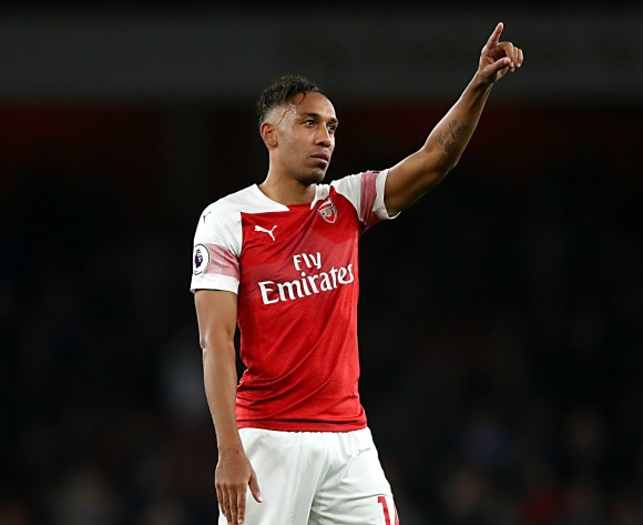 Aubameyang fired up for North London Derby