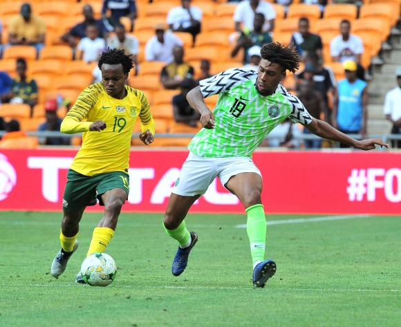 WATCH: 2019 Afcon qualifier highlights for South Africa v Nigeria highlights
