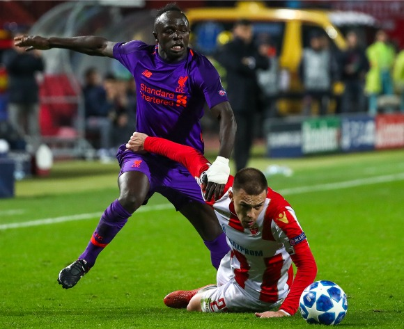 WATCH: Mane & Salah's Liverpool lose to FK Crvena Zvezda in the Champions League