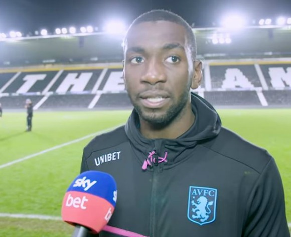 WATCH: DRC Yannick Bolasie's interview after Aston Villa victory
