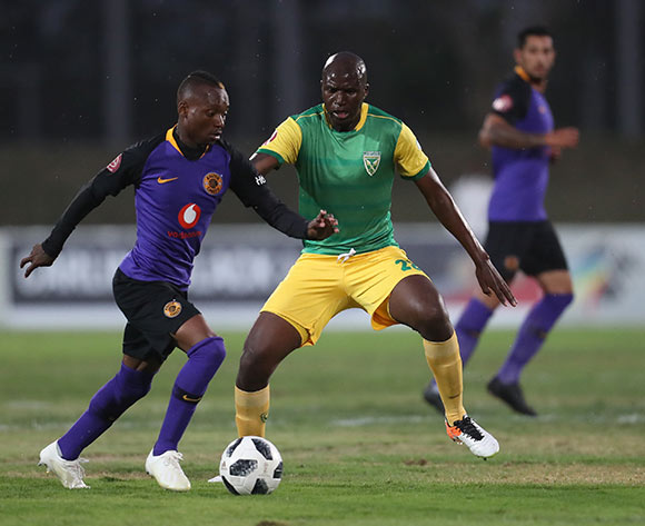 Khama Billiat of Kaizer Chiefs and Musa Bilankulu of Golden Arrows during the Absa Premiership 2018/19 game between Golden Arrows and Kaizer Chiefs at Princess Magogo Stadium on 1 December 2018 © Howard Cleland/BackpagePix