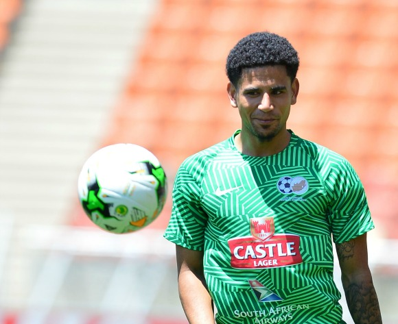 Keagan Dolly back at training