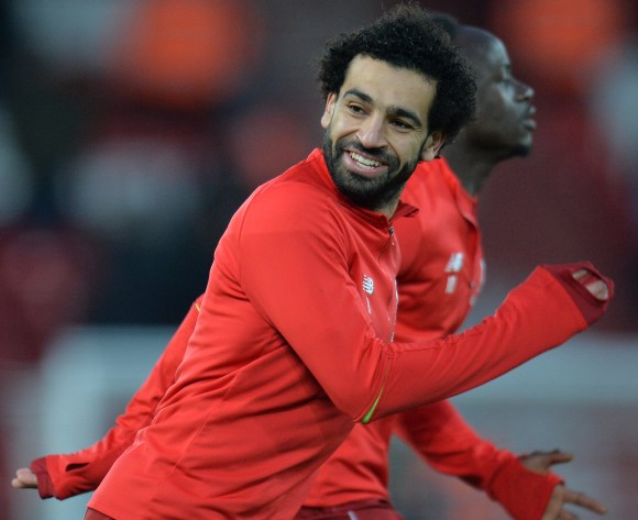 WATCH: Egypt's Salah invites viral star Kearney to Liverpool