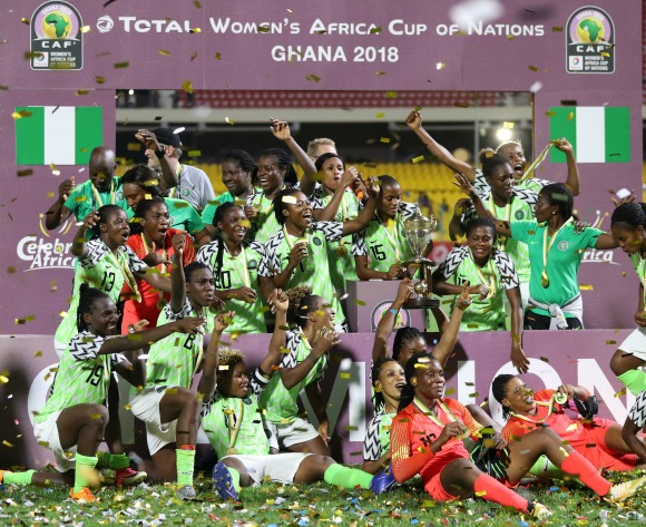 Nigeria defend AWCN title after defeating South Africa