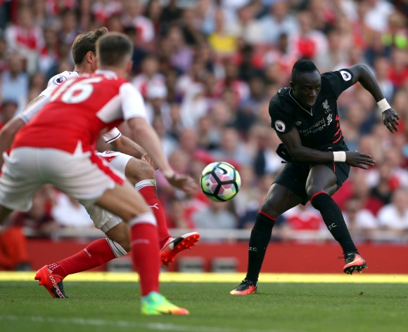 WATCH: Mané creates new way to defend set-pieces