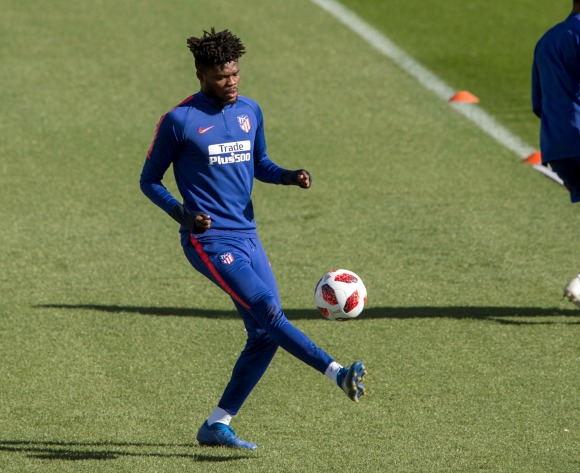 I am happy at Atletico Madrid, insists Ghana's Partey