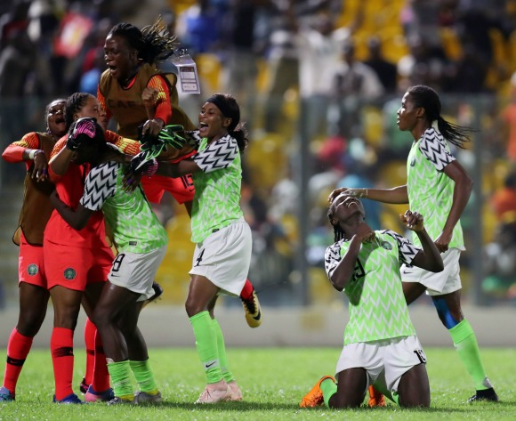 VIDEO: Nigeria edge South Africa on penalties to lift AWCN title